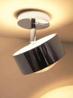 2er Set LED Chrom Wand Leuchten Spot Strahler schwenkbar Treppenhaus Beleuchtung