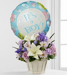 The FTD Boys Are BestI Bouquet is blooming with sweet love to congratulate the new family on their darling baby boy! at $54.90   http://www.bboescape.com/products/buy/727/say-it-with-flowers/FTD-Boys-Are-Best-Bouquet WWW.INFANTEENIEBEENIE.COM~  only hats guaranteed to fit and stay snug to all newborns!