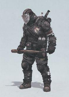ArtStation - Zombie Hunter, Yuri Shwedoff
