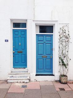 Blue Brighton Tall Cabinet Storage, Locker Storage, Brighton, How To Introduce Yourself, Outdoor Decor, Furniture, Color, Home Decor, Happy