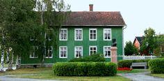 Sovelius House in Raahe town in Finland. Northern Ostrobothnia - Pohjois-Pohjanmaa - Norra Österbotten.