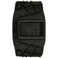 Diesel Men's DZ7066 Black Leather Watch