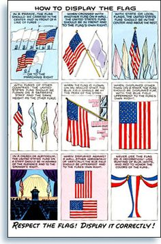 proper flag etiquette for veterans day