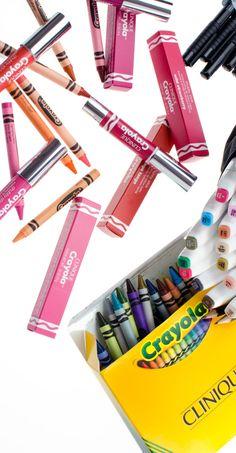 Die neue entzückende Clinique Crayola Chubby LE ist da + ein Goodie gibt's auch. Mehr dazu >> Link!