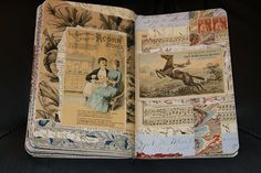 beautiful collage pages