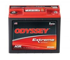 ODYSSEY Batteries Powersports Battery features a rugged construction built to take the constant pounding that comes with the territory whether that territory is on land sea or snow. The ODYSSEY ba. Tractor Battery, Motorcycle Battery, Lead Acid Battery, Old Cars, Iphone 6, Money, Metals, Lawn, Objects