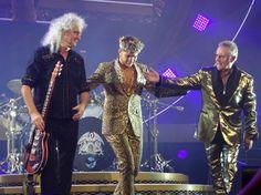 Queen with  Adam  Lambert  in Toronto  2014