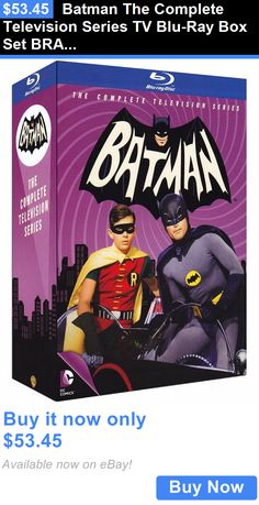 cds dvds vhs: Batman The Complete Television Series Tv Blu-Ray Box Set Brand New Free Ship BUY IT NOW ONLY: $53.45