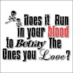 Does it run in your blood? Song Lyric Quotes, Song Lyrics, Badass Quotes, Funny Quotes, Ex Friends, Papa Roach, Roaches, Key To My Heart, Family Quotes