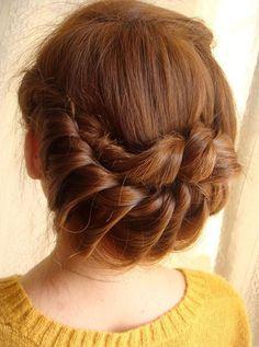 Hướng dẫn tạo kiểu tóc tết cuốn tròn cực đẹp