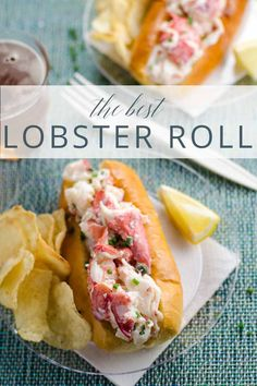 Best Lobster Roll Recipe: How to Make a Lobster Roll A simple, classic recipe for the best lobster rolls. It doesn't get any better than this! Plus, learn how to perfectly cook and pick a whole lobster like the pros. Lobster Roll Recipes, Best Lobster Roll, Lobster Rolls, Fresh Lobster, Lobster Meat, Shrimp Rolls, Healthy Recipes, Fish Recipes, Seafood Recipes