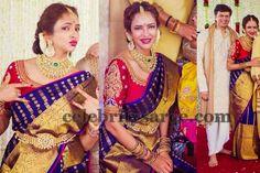 Lakshmi Manchu Purple Gaurang Saree   Saree Blouse Patterns