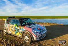 MINI Cabrio soaks up the sun in Argentina.