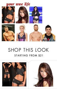 """Your WWE Life"" by jamiehemmings19 ❤ liked on Polyvore"
