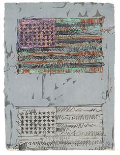 Jasper Johns at The Phillips Collection in Washington D.C.