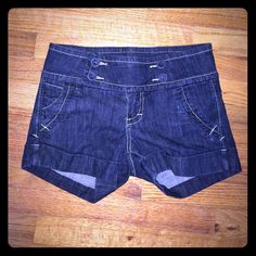 STS Blue Women's Shorts Cute STS Blue high waisted women's shorts! In excellent condition. Size 28. 12 inches total length. Offers welcome  See Thru Soul Shorts Jean Shorts