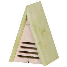 Huisje voor lieveheersbeestjes - driehoek -