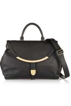 SEE BY CHLOÉ Lizzie textured-leather shoulder bag