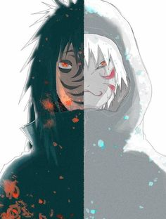 I wish Obito's face was seen when he was still long haired.
