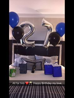 Birthday Surprise For Him ❤