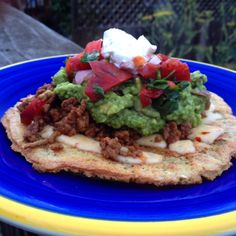 I'm pinning this mostly for the seasonings for the lamb. I already know how I like my homemade guac. :)