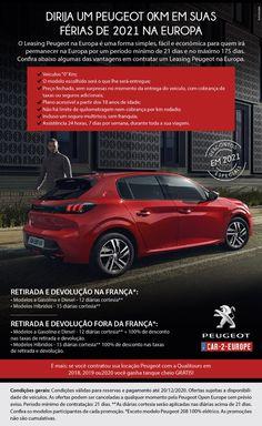 Descontos especiais em 2021 Peugeot, Bmw, Benefit Brow, Europe