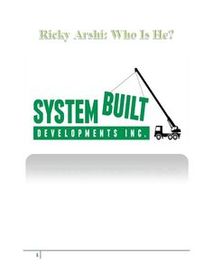 Ricky Arshi is a Calgary-based investor who has invested in real estate, oil and gas services, technology start-ups, manufacturing and software. In addition to sitting on the boards of a number of businesses, he also actively runs his own businesses including R2 Developments and Coalburn.
