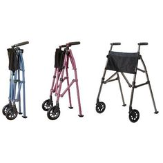 The lightest folding walker available. The EZ Fold N Go Walker by Stander with Free Shipping at Ease Living