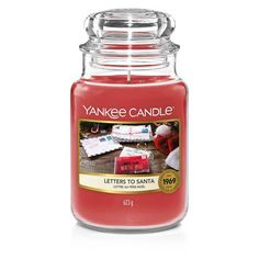New Yankee, Good Burns, Santa Letter, Paraffin Wax, Natural Essential Oils, Christmas Countdown, Merry And Bright, Candle Jars