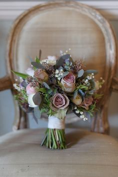 Bouquet - is that eucalyptus?