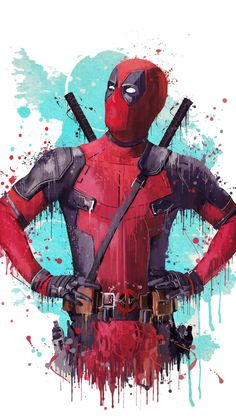 Deadpool 2, 2018 movie, fan artwork, 720x1280 wallpaper