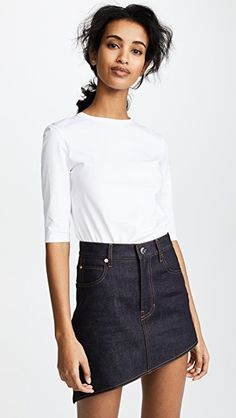 online shopping for Acne Studios Idra Tee from top store. See new offer for Acne Studios Idra Tee Acne Studios, Mini Skirts, Tees, Fashion Design, Morgan Lane, Clothes, Tee Online, Shopping, Style