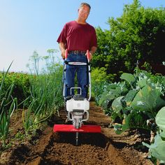 The Mantis XP Extra-Wide Tiller is Built for Bigger Yards and Gardens with a 16 Inch Tilling & Cultivating Width, Featuring a Premium Honda® Engine. Garden Soil, Garden Table, Gardening Tools, Small Garden Tiller, Garden Cultivator, Low Growing Shrubs, Best Garden Tools, Old Fences