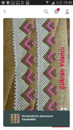 This Pin was discovered by HUZ Crochet Trim, Filet Crochet, Crochet Borders, Crochet Stitches, Afghan Dresses, Crochet Curtains, Bargello, Lace Making, Beading Tutorials