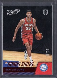 16/17 Prestige Ben Simmons Red Bonus Shots 15/75