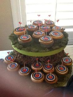 Brave target cupcakes