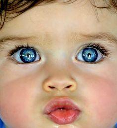 New baby boy blue eyes angel Ideas Gorgeous Eyes, Pretty Eyes, Cool Eyes, Precious Children, Beautiful Children, Beautiful Babies, Baby Kind, Baby Love, Cute Kids