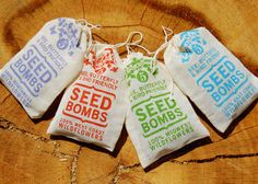 Seed Bombs  - The Dieline - The #1 Package Design Website -