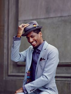 Jon Batiste, the gifted New Orleans musician, is the new bandleader on The Late Show with Stephen Colbert, and he's bringing his exuberant brand of Southern style to the rest of America. Photo by William Hereford. Styling by Karen Schijman. | Garden and Gun