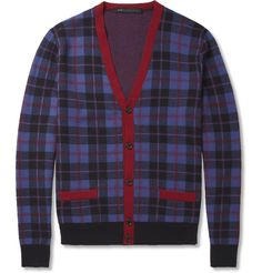 Marc by Marc JacobsAimee Check Wool Cardigan|MR PORTER