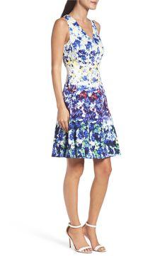 Main Image - Maggy London Fit & Flare Dress (Regular & Petite)