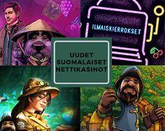 Katso täältä tämän vuoden kasinouutuksia - Uuden suomalaiset nettikasinot. #uudetnettikasinot #casino #nettikasinot #kasinot2020