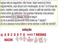 Análise Combinatória Fatorial Arranjo Combinação Permutação Estatística ... https://youtu.be/HK7Cram--qU