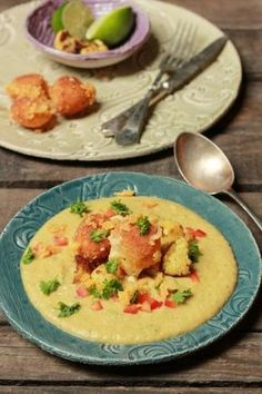 Curry-s sültkarfiol főzelék sajtgolyókkal   Rizsázzunk!