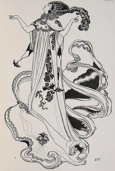 Carbon Cradle - kellymckernan: René Bull- Salome illustration