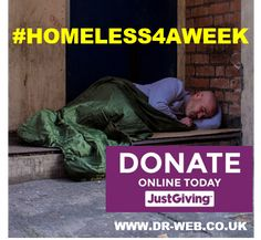 Help me raise £1500 to challenge perceptions & address the unmet health needs of the #homeless #community in #Leicester #HOMELESS4AWEEK. Please #donate on @justgiving