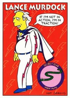 1993 SkyBox the Simpsons #S32 Lance Murdock Front
