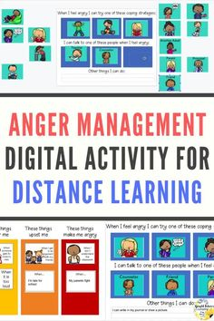 This anger management digital activity is in google slides and can be used with your google classroom! #brightfuturescounseling #elementaryschoolcounseling #elementaryschoolcounselor #schoolcounseling #schoolcounselor #angermanagement #digitalactivity Elementary School Counselor, School Counseling, Elementary Schools, Coping Skills Activities, How To Control Anger, Bullying Prevention, Social Emotional Learning, Character Education, School Resources