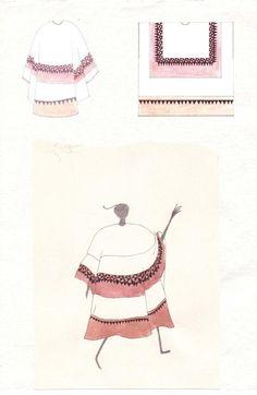 Fashion Sketchbook - fashion design drawings; fashion student portfolio // Holly Penfold