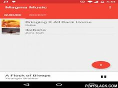 Magma Music  Android App - playslack.com , Magma Music is intended for playing entire albums, one by one. Albums are discovered and organised by the folder structure on your device, rather than by metadata as used by most Android music players.- Simple interface- Listen to entire albums without having to manually queue tracks- Albums can be manually queued or left to play randomly- Keep track of progress between sessions. Works well for audio books or large media files- Fortress Mode…